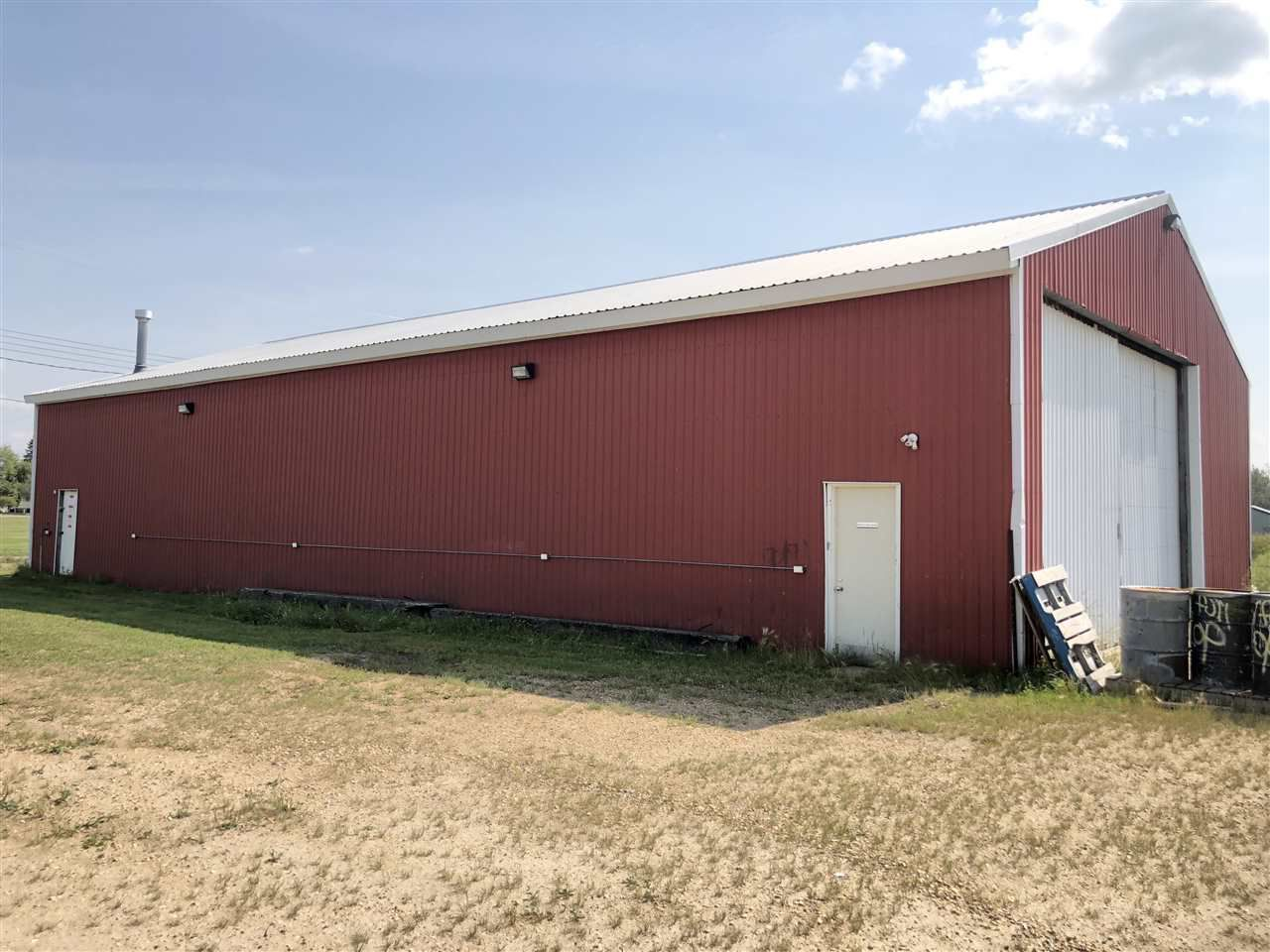 Main Photo: 4901 53 Street: Clyde Land Commercial for sale : MLS®# E4124227