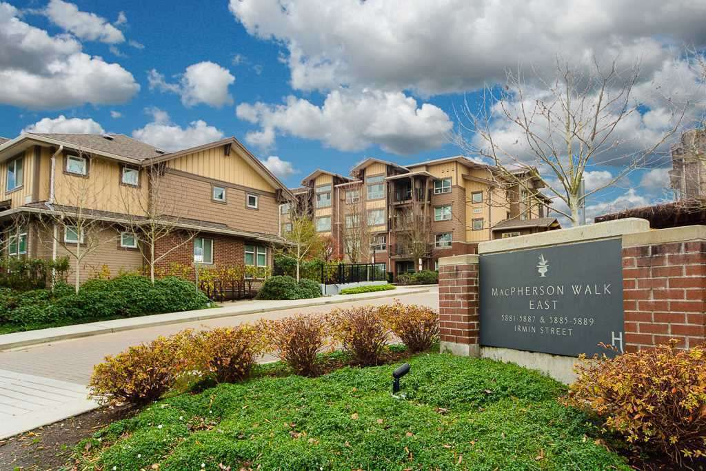 Main Photo: 202 5889 IRMIN Street in Burnaby: Metrotown Condo for sale (Burnaby South)  : MLS®# R2302040