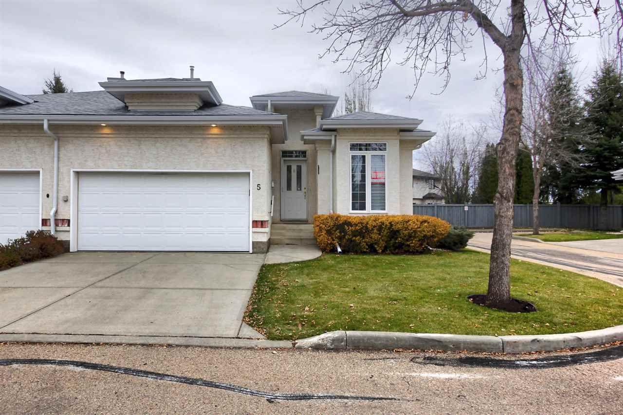 Main Photo: 5 1 Oakmont Drive: St. Albert House Half Duplex for sale : MLS®# E4140431