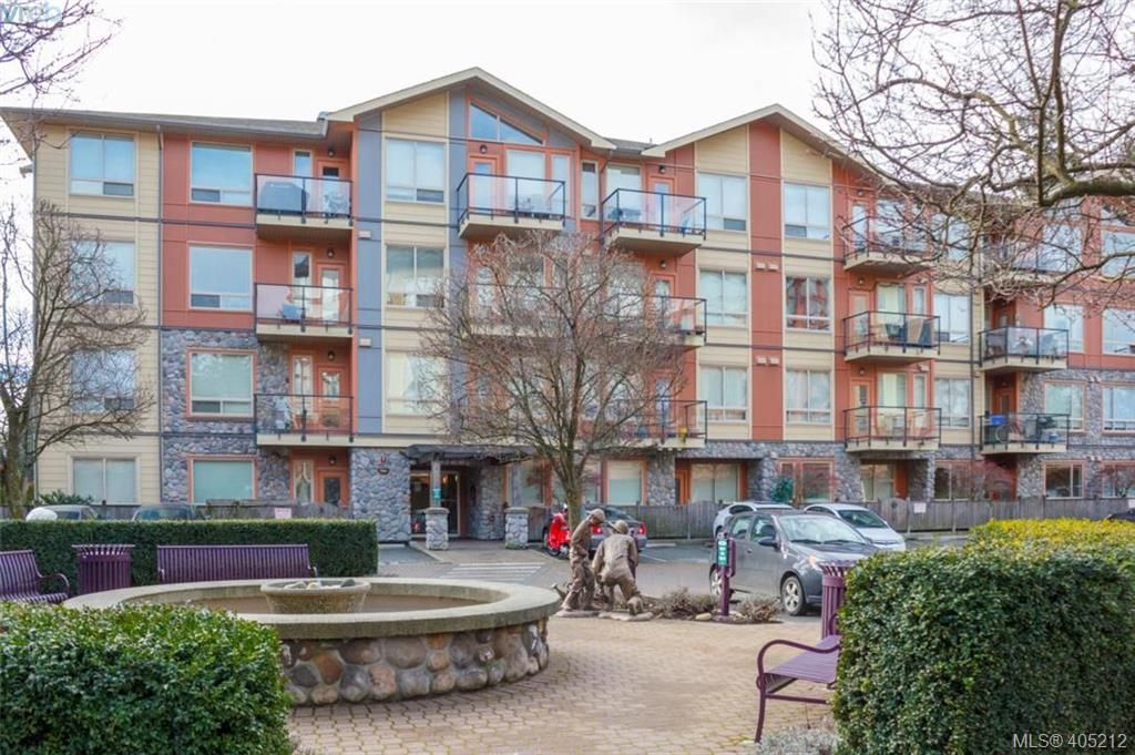 Main Photo: 108 825 Goldstream Avenue in VICTORIA: La Langford Proper Condo Apartment for sale (Langford)  : MLS®# 405212