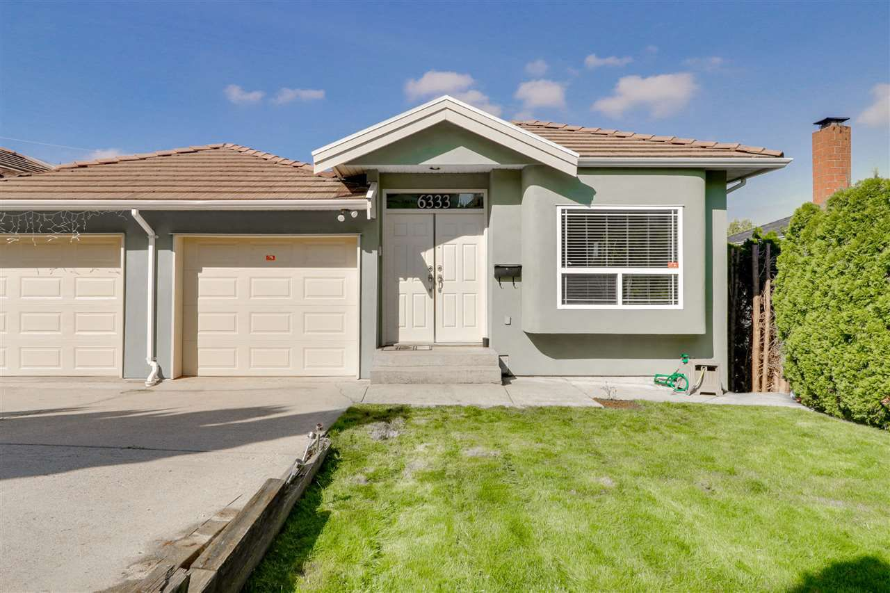 Main Photo: 6333 BURNS Street in Burnaby: Upper Deer Lake House 1/2 Duplex for sale (Burnaby South)  : MLS®# R2340136