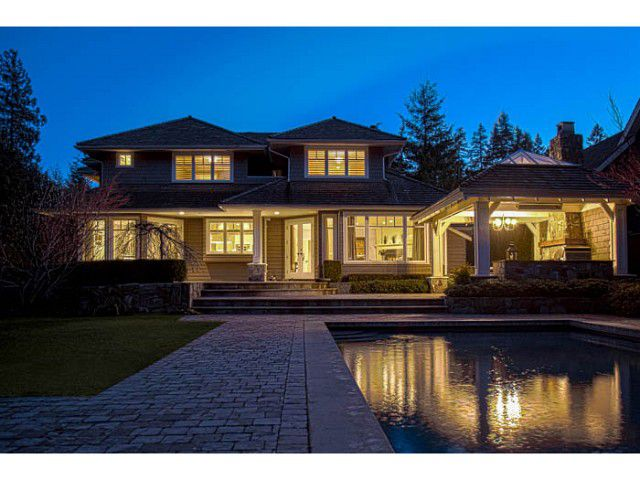 Main Photo: 4533 CAULFEILD Lane in West Vancouver: Caulfeild House for sale : MLS®# V1046611
