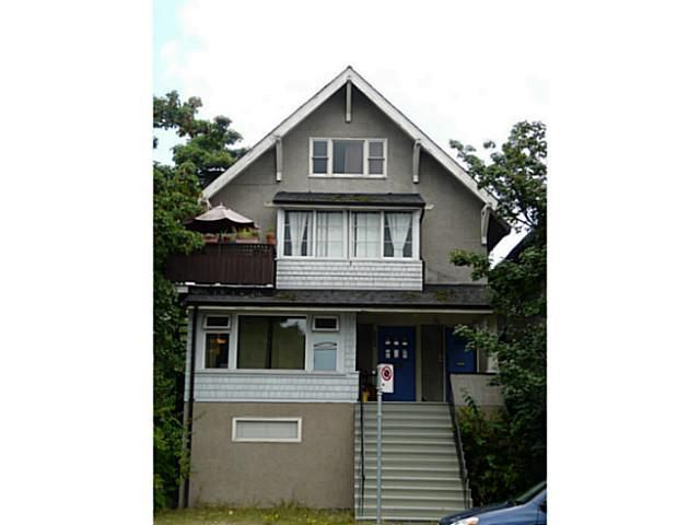Main Photo: 2204 MACDONALD Street in Vancouver: Kitsilano House for sale (Vancouver West)  : MLS®# V1134340