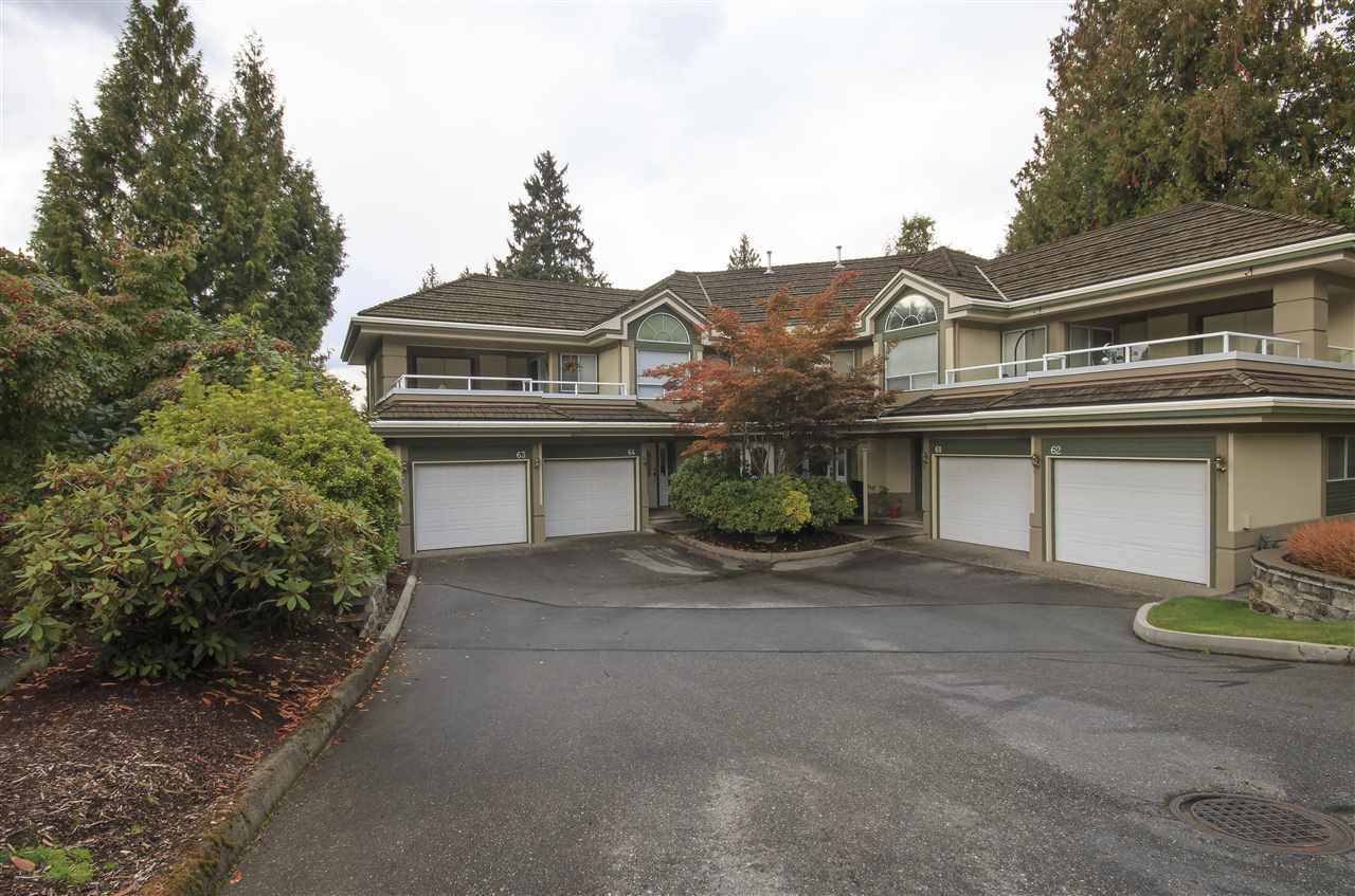"""Main Photo: 64 4001 OLD CLAYBURN Road in Abbotsford: Abbotsford East Townhouse for sale in """"CEDAR SPRINGS"""" : MLS®# R2109700"""
