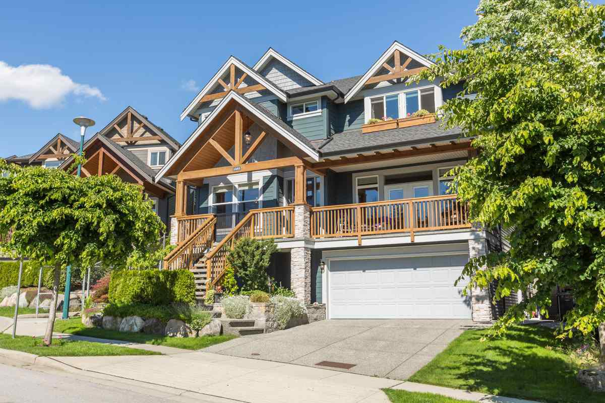 "Main Photo: 1493 CADENA Court in Coquitlam: Burke Mountain House for sale in ""Southview at Burke Mountain"" : MLS®# R2180226"