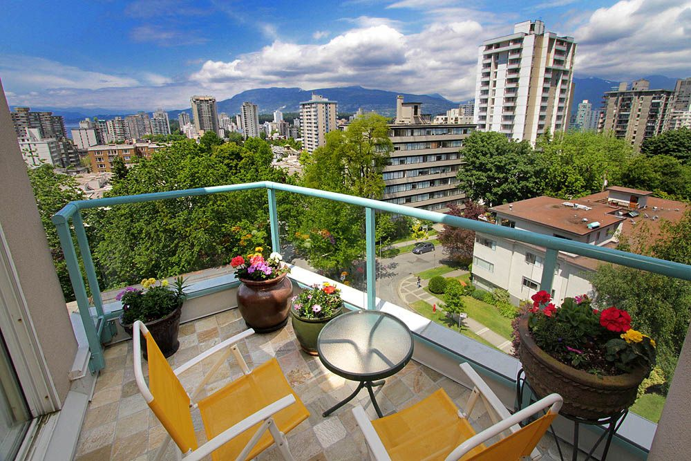"""Main Photo: # 801 1272 COMOX ST in Vancouver: West End VW Condo for sale in """"CHATEAU COMOX"""" (Vancouver West)  : MLS®# V896383"""