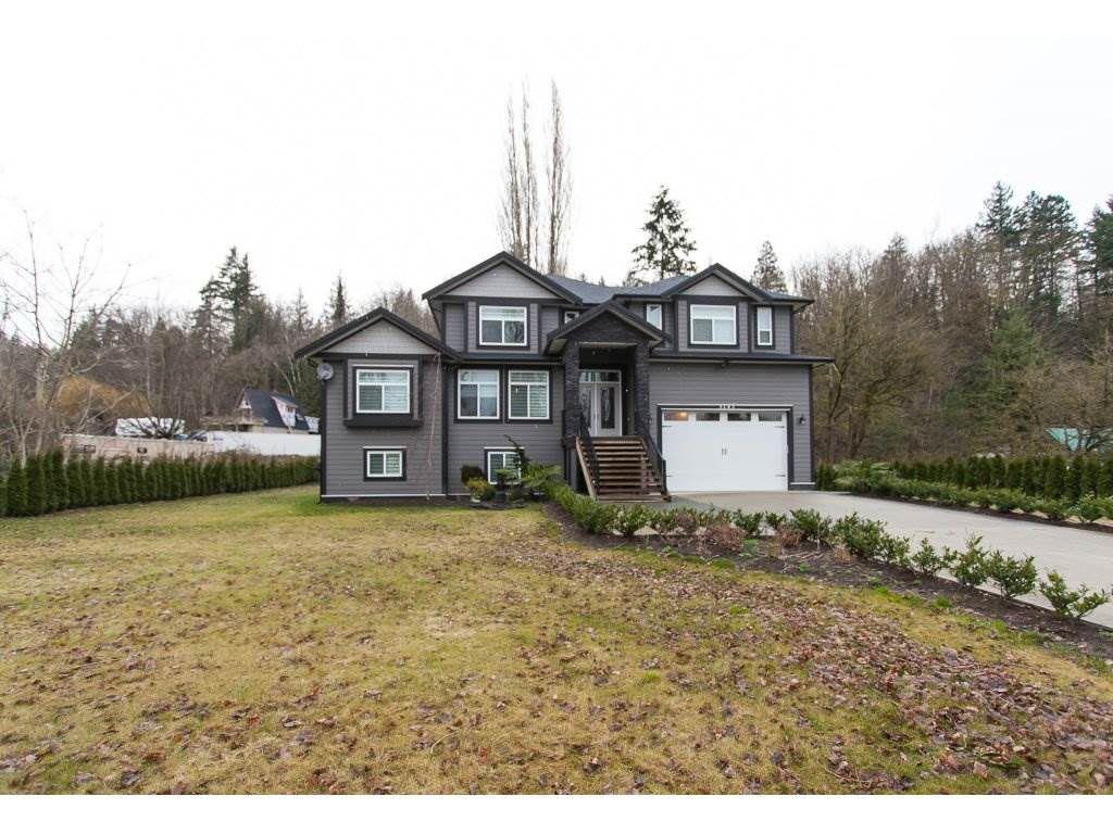 Main Photo: 3143 ELDRIDGE Road in Abbotsford: Sumas Mountain House for sale : MLS®# R2240486