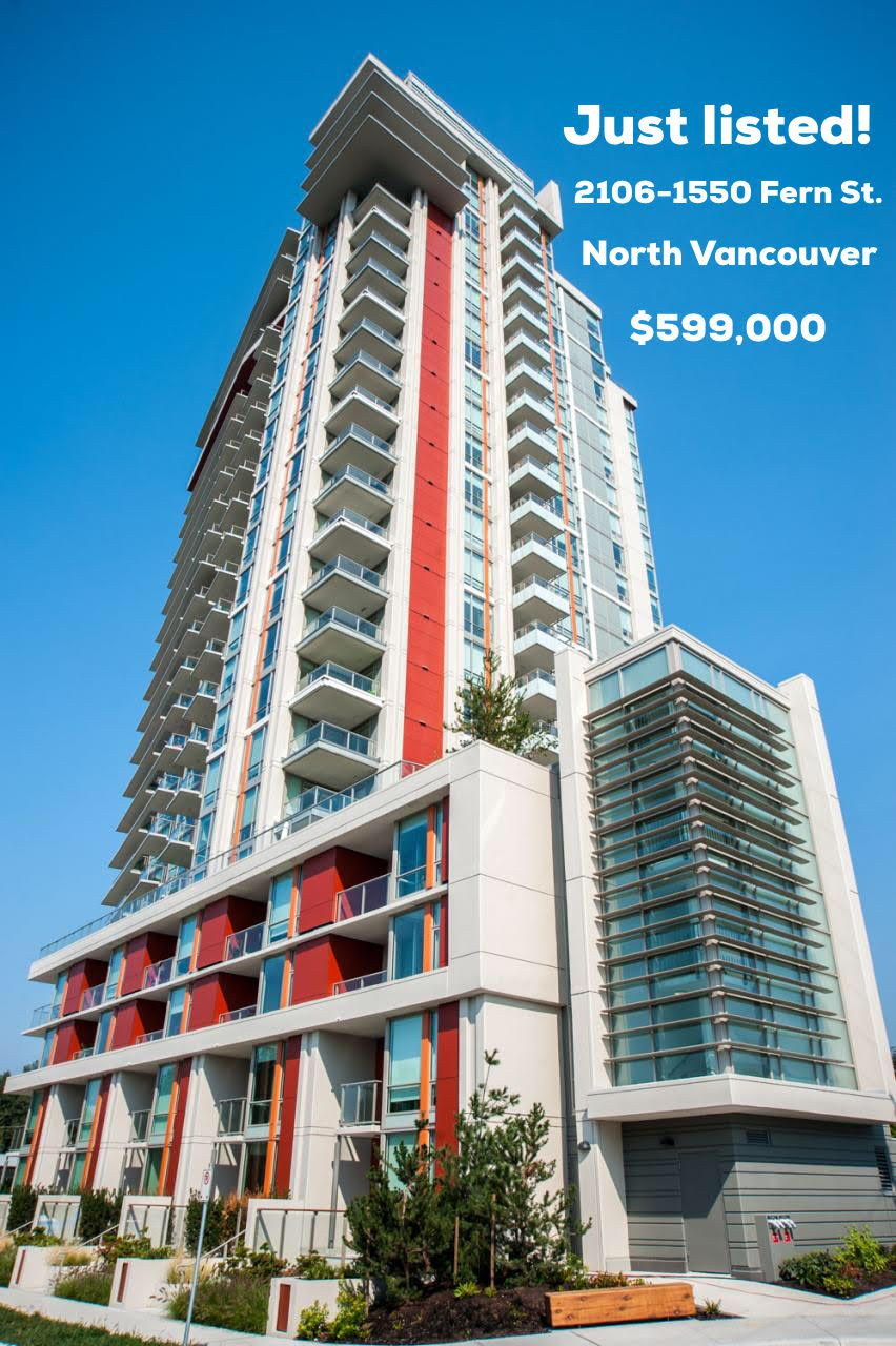 """Main Photo: 2106 1550 FERN Street in North Vancouver: Lynnmour Condo for sale in """"Beacon at Seylynn Village"""" : MLS®# R2258219"""