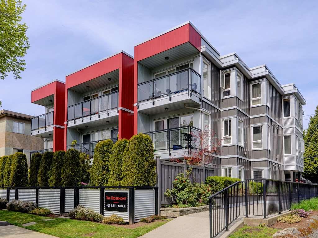 Main Photo: 101 659 E 8TH AVENUE in Vancouver: Mount Pleasant VE Condo for sale (Vancouver East)  : MLS®# R2262284