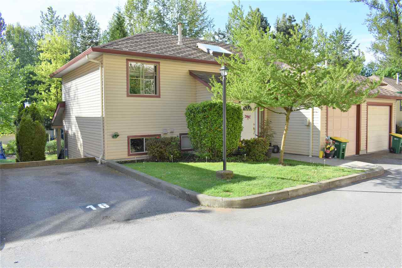"""Main Photo: 22 21960 RIVER Road in Maple Ridge: West Central Townhouse for sale in """"Foxborough Hills"""" : MLS®# R2266656"""