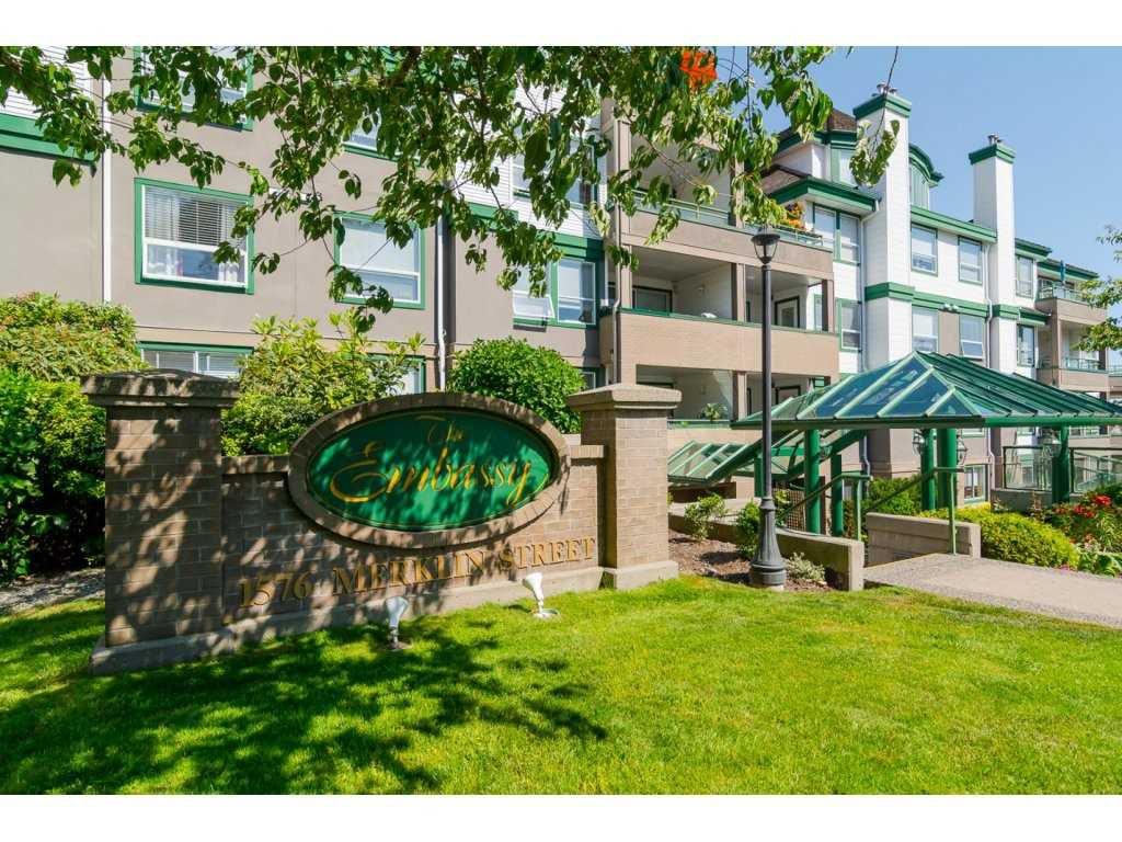 "Main Photo: 102 1576 MERKLIN Street: White Rock Condo for sale in ""The Embassy"" (South Surrey White Rock)  : MLS®# R2280195"