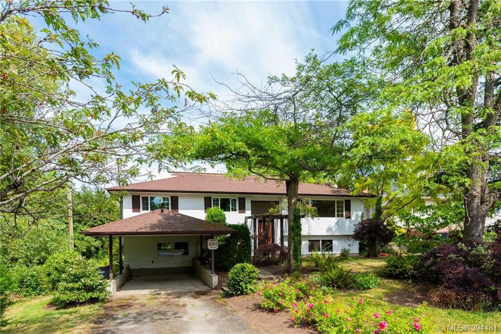 Main Photo: 4261 Carey Road in VICTORIA: SW Northridge Single Family Detached for sale (Saanich West)  : MLS®# 394481