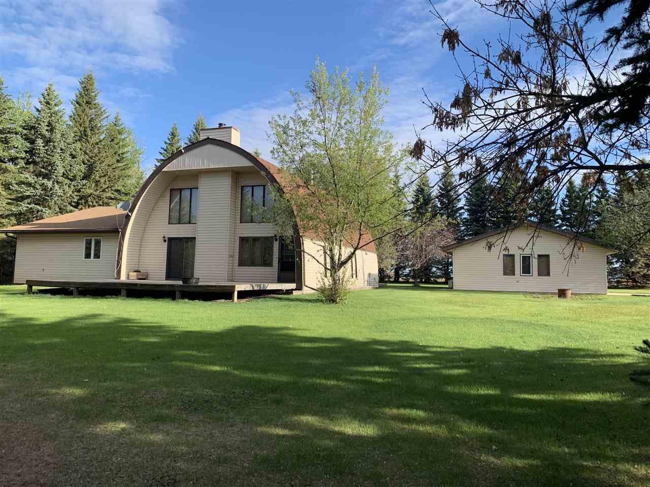 Main Photo: 2115 TWP RD 602: Rural Barrhead County House for sale : MLS®# E4145175