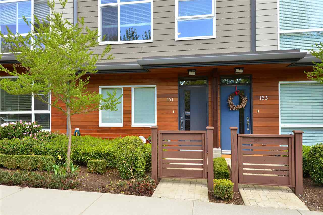 "Main Photo: 151 2228 162 Street in Surrey: Grandview Surrey Townhouse for sale in ""THE BREEZE"" (South Surrey White Rock)  : MLS®# R2362720"