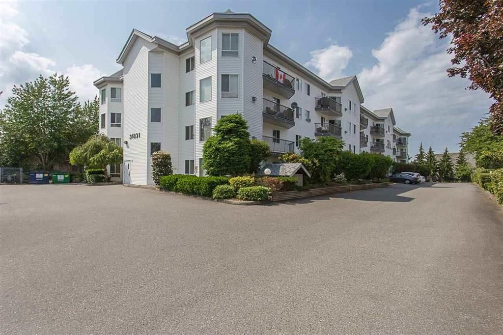 """Main Photo: 403 31831 PEARDONVILLE Road in Abbotsford: Abbotsford West Condo for sale in """"West Point Villa"""" : MLS®# R2377518"""