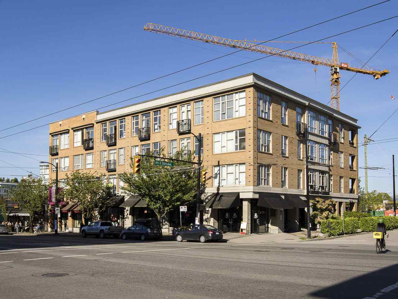 """Main Photo: 405 205 E 10TH Avenue in Vancouver: Mount Pleasant VE Condo for sale in """"THE HUB"""" (Vancouver East)  : MLS®# R2064198"""