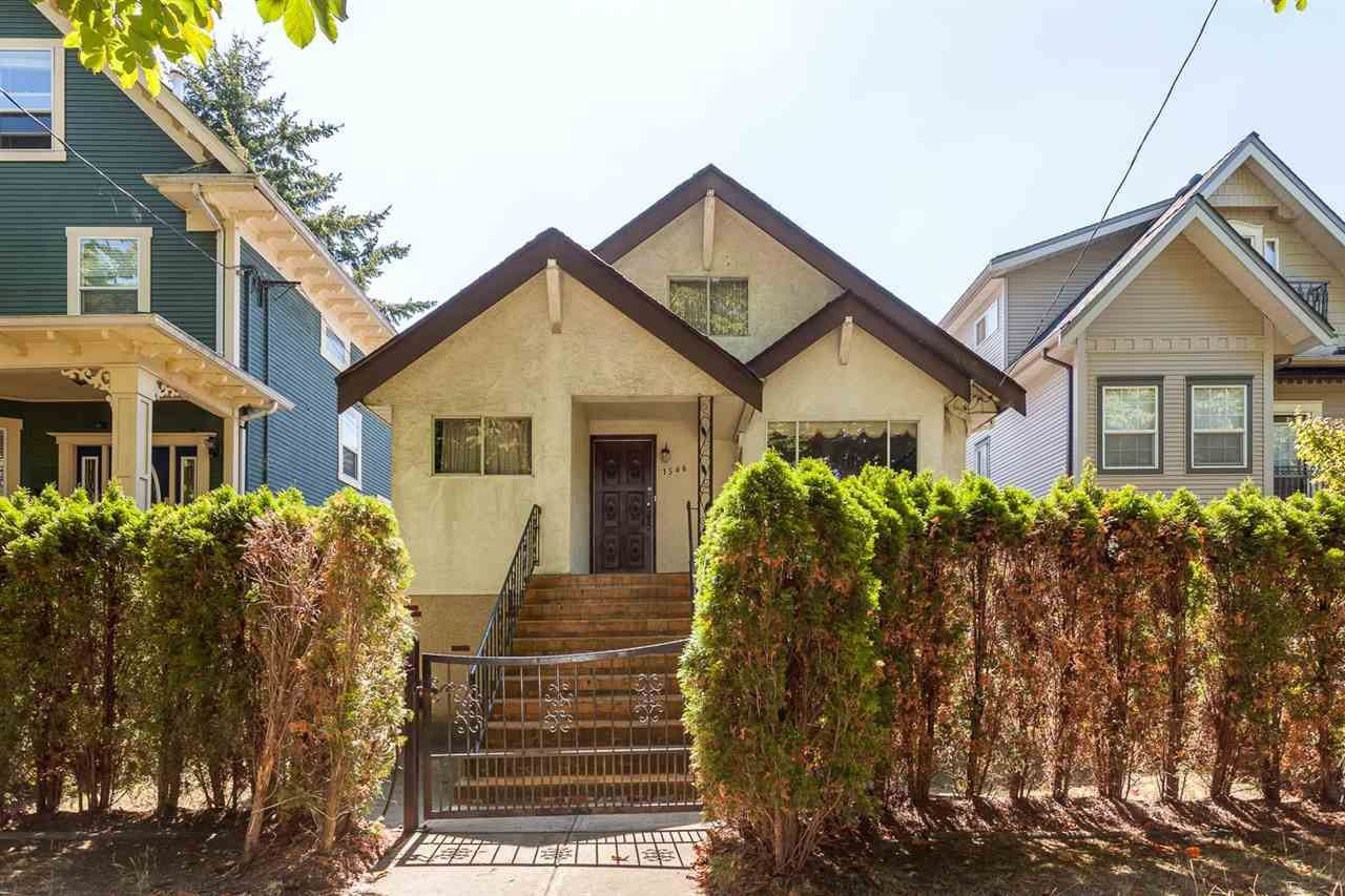 Main Photo: 1546 E 10TH Avenue in Vancouver: Grandview VE House for sale (Vancouver East)  : MLS®# R2101358
