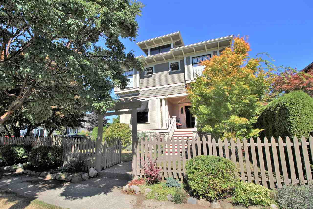 Main Photo: 335 PINE Street in New Westminster: Queens Park House for sale : MLS®# R2202054
