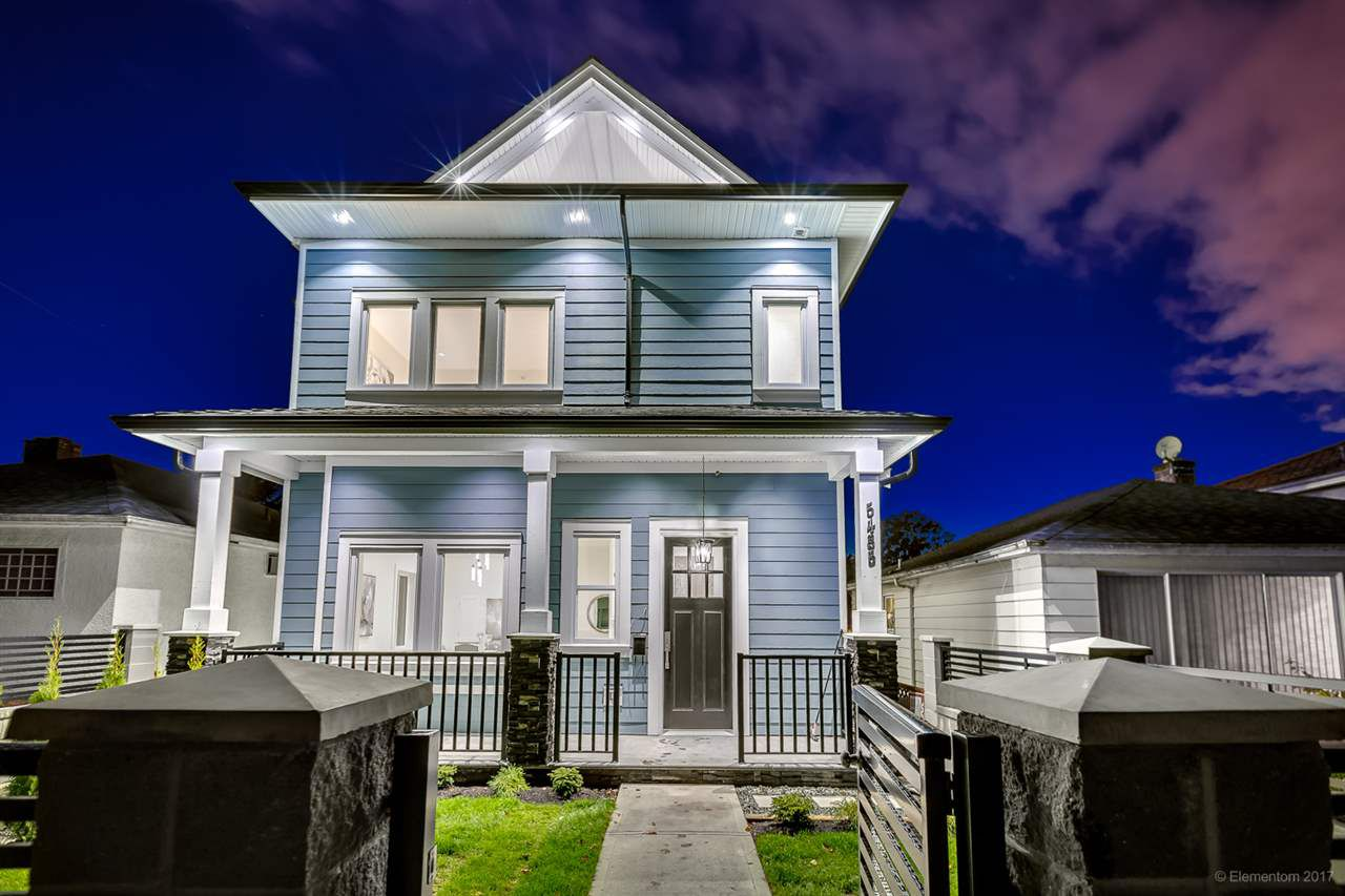 Main Photo: 5485 DUNDEE Street in Vancouver: Collingwood VE House 1/2 Duplex for sale (Vancouver East)  : MLS®# R2250989