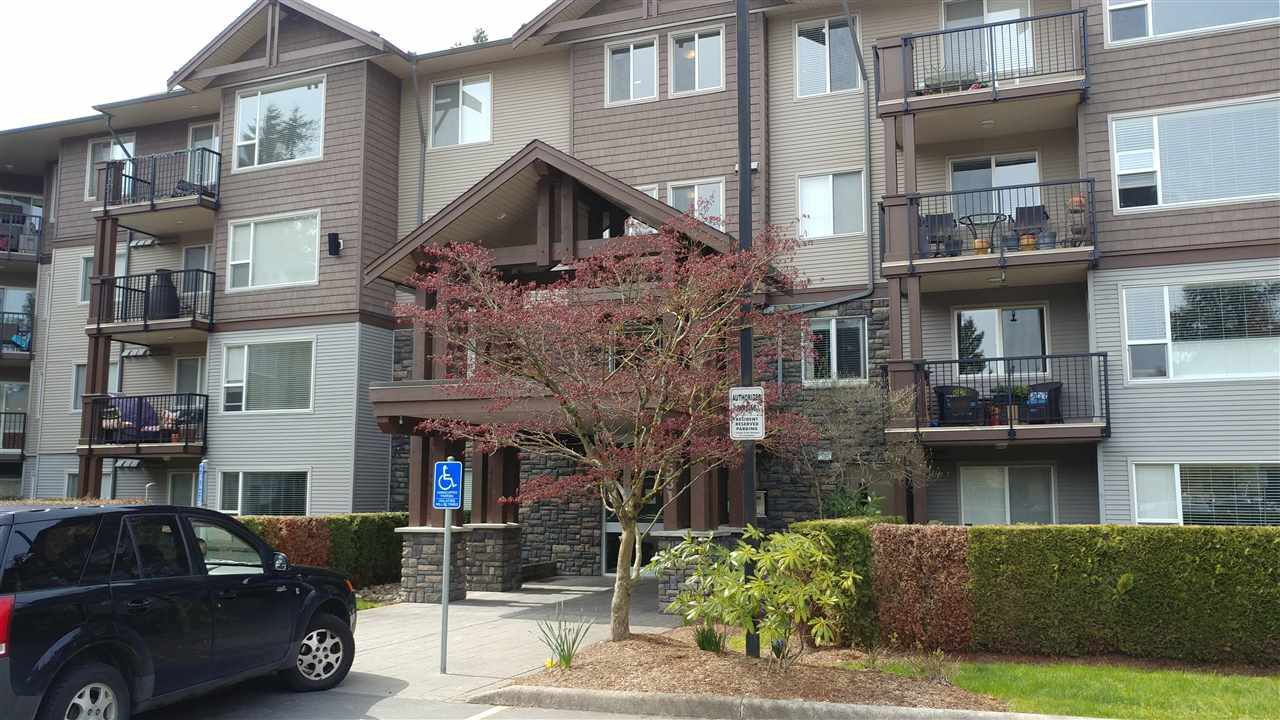 "Main Photo: 111 2581 LANGDON Street in Abbotsford: Abbotsford West Condo for sale in ""COBBLESTONE"" : MLS®# R2258869"