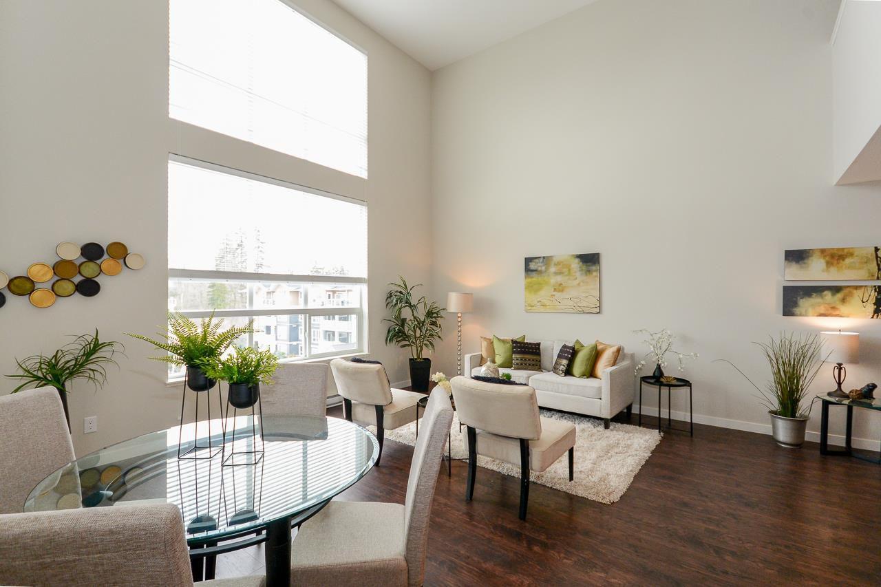 "Main Photo: 404 6480 194 Street in Surrey: Clayton Condo for sale in ""WATERSTONE - ESPLANADE"" (Cloverdale)  : MLS®# R2330843"
