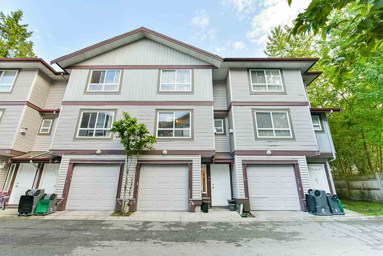 Main Photo: 52 12730 66 Avenue in Surrey: West Newton Townhouse for sale : MLS®# R2371017