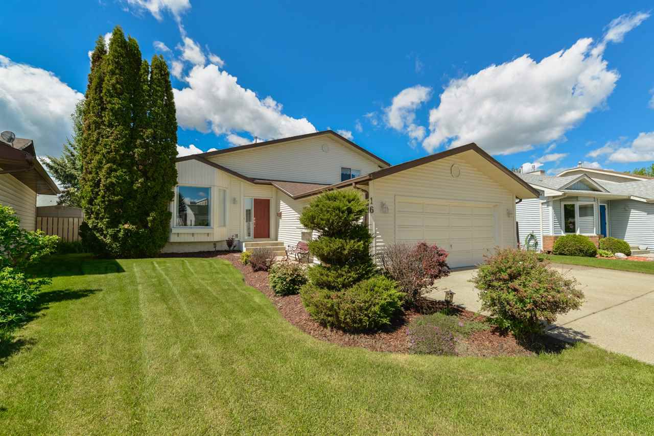 Main Photo: 16 MCKEAN Way: Spruce Grove House for sale : MLS®# E4161297