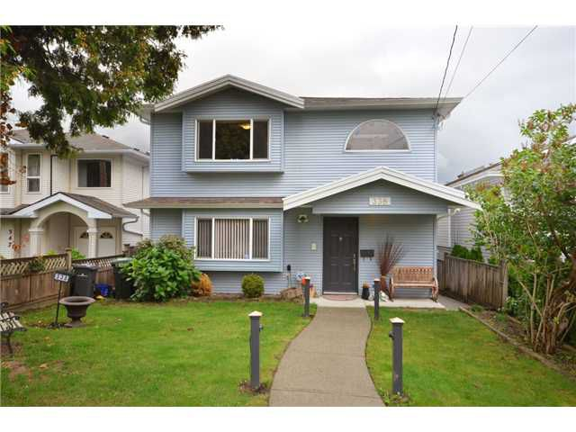 Main Photo: 338 E 6TH Avenue in New Westminster: The Heights NW House for sale : MLS®# V914175
