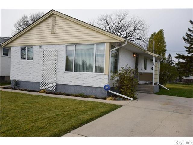 Main Photo: 182 Lake Street in WINNIPEG: St James Residential for sale (West Winnipeg)  : MLS®# 1529130