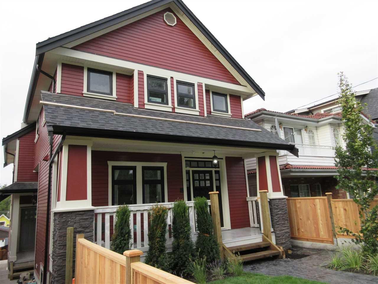 Main Photo: 1645 E 14TH AVENUE in : Grandview VE House 1/2 Duplex for sale : MLS®# R2126747