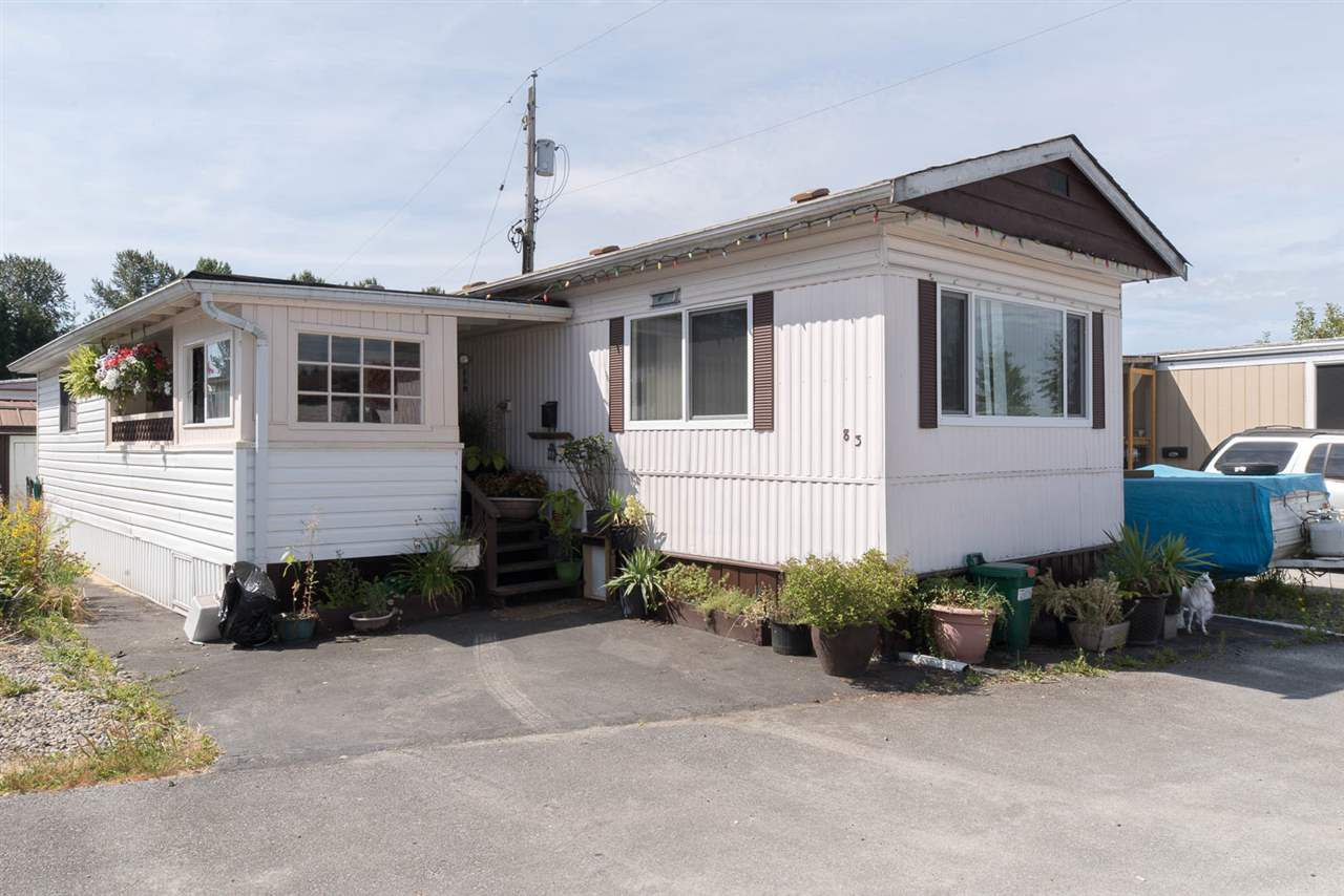 """Main Photo: 83 201 CAYER Street in Coquitlam: Maillardville Manufactured Home for sale in """"WILDWOOD PARK"""" : MLS®# R2188157"""