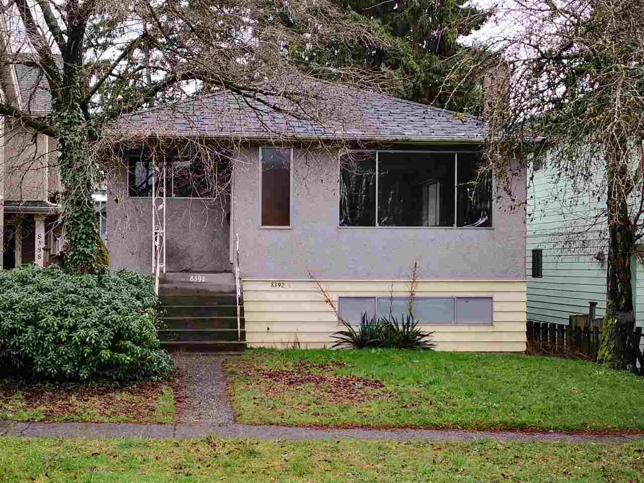 Main Photo: 8392 SHAUGHNESSY Street in Vancouver: Marpole House for sale (Vancouver West)  : MLS®# R2330863