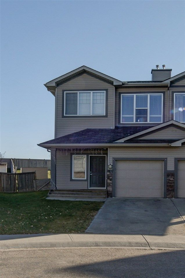 Main Photo: 1107 37B Avenue in Edmonton: Zone 30 House Half Duplex for sale : MLS®# E4139993