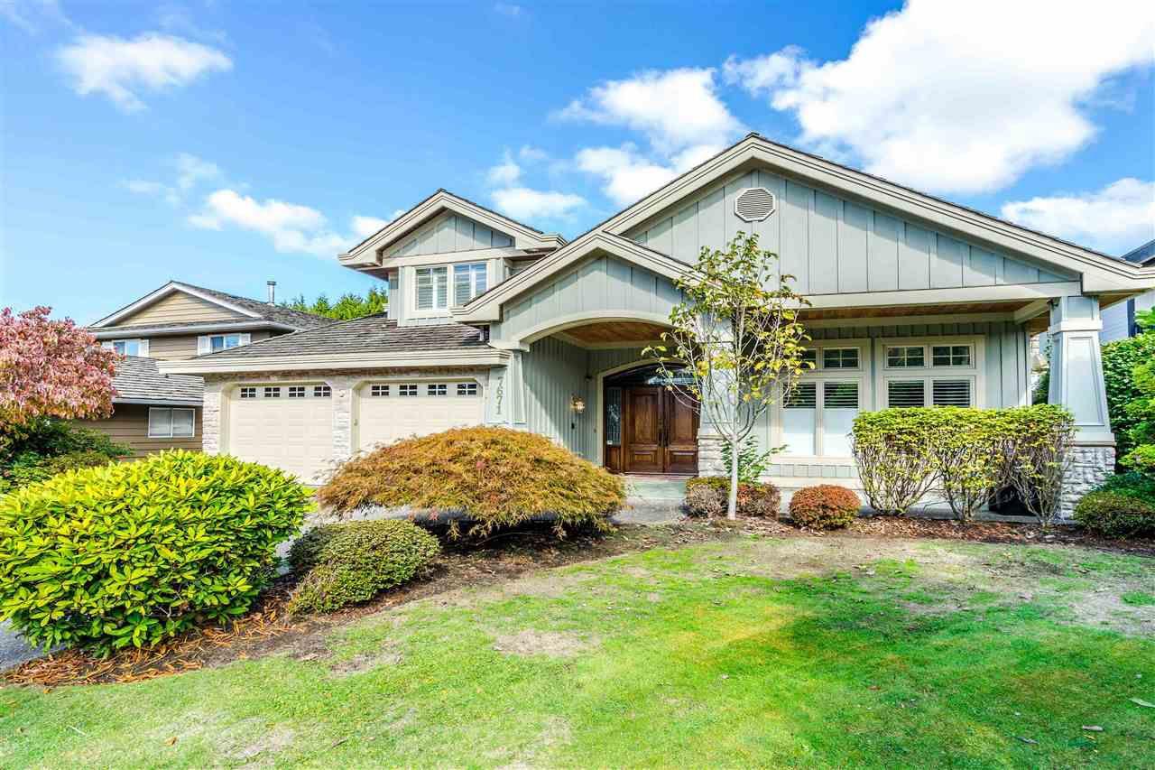 Main Photo: 7671 MALAHAT Avenue in Richmond: Broadmoor House for sale : MLS®# R2336762