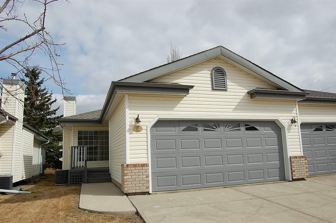 Main Photo: 22 95 GERVAIS Road: St. Albert House Half Duplex for sale : MLS®# E4151866