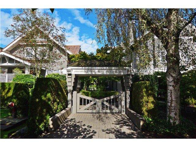 Main Photo: 1849 W 16TH Avenue in Vancouver: Kitsilano Townhouse for sale (Vancouver West)  : MLS®# V1028984