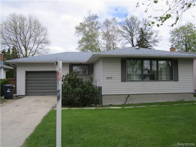 Main Photo: 1127 Rothesay Street in WINNIPEG: North Kildonan Residential for sale (North East Winnipeg)  : MLS®# 1512916
