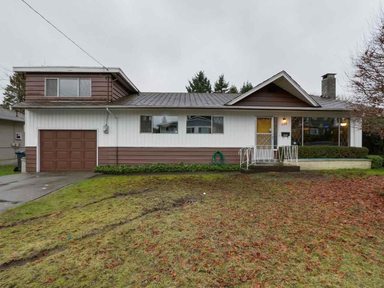 Main Photo: 2168 PRAIRIE Avenue in Port Coquitlam: Glenwood PQ House for sale : MLS®# R2041317