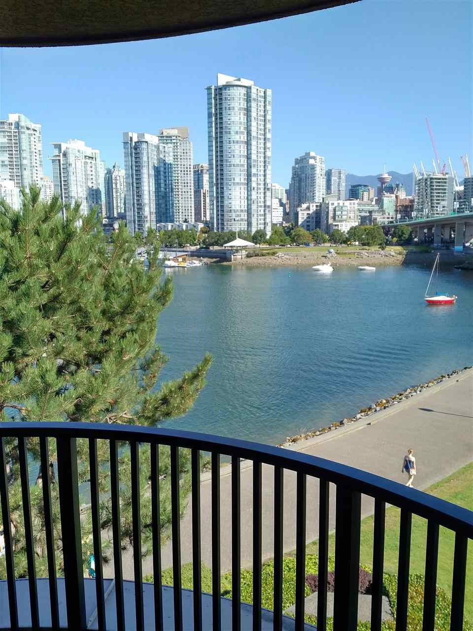 Main Photo: 411 1859 SPYGLASS Place in Vancouver: False Creek Condo for sale (Vancouver West)  : MLS®# R2100993