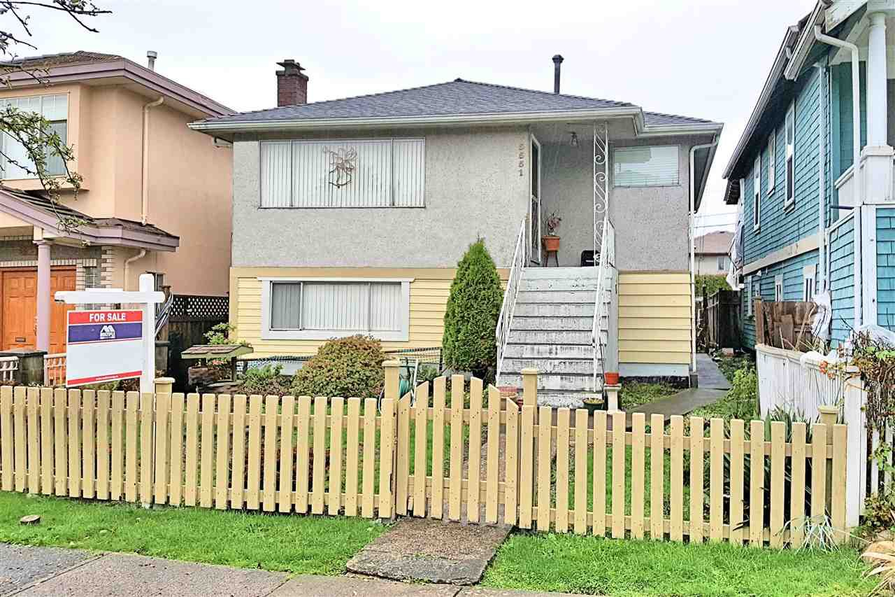 "Main Photo: 5551 LANARK Street in Vancouver: Knight House for sale in ""KNIGHT / VICTORIA"" (Vancouver East)  : MLS®# R2120386"