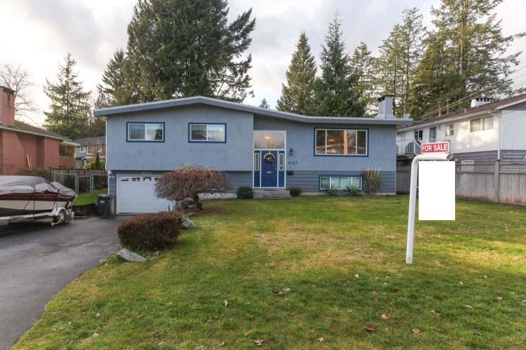 Main Photo: 4023 Sefton Street in Port Coquitlam: House for sale : MLS®# R2233246