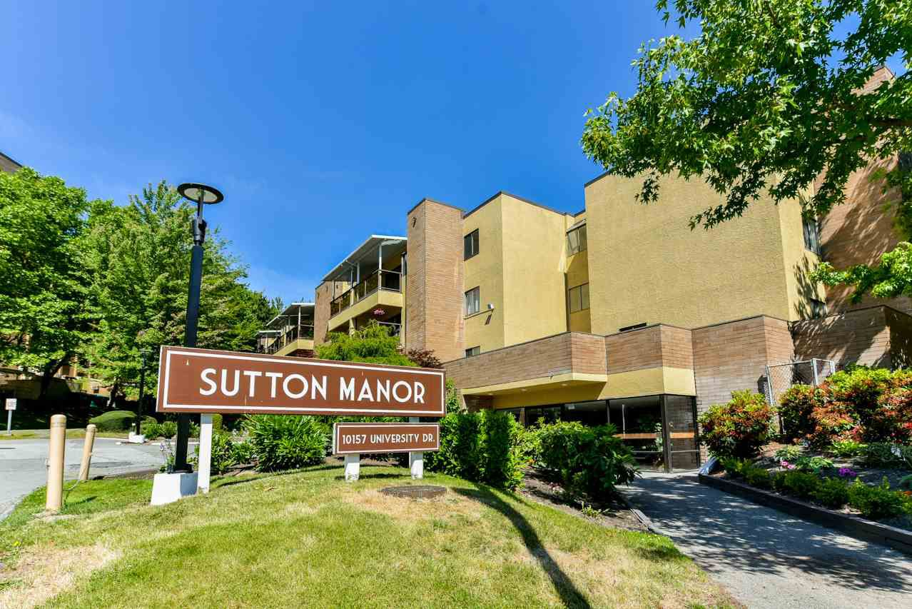 "Main Photo: 301 10157 UNIVERSITY Drive in Surrey: Whalley Condo for sale in ""Sutton Manor"" (North Surrey)  : MLS®# R2281977"