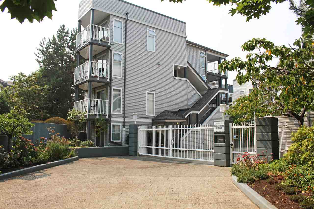 "Main Photo: 26 7345 SANDBORNE Avenue in Burnaby: South Slope Townhouse for sale in ""SANDBORNE WOODS"" (Burnaby South)  : MLS®# R2299521"
