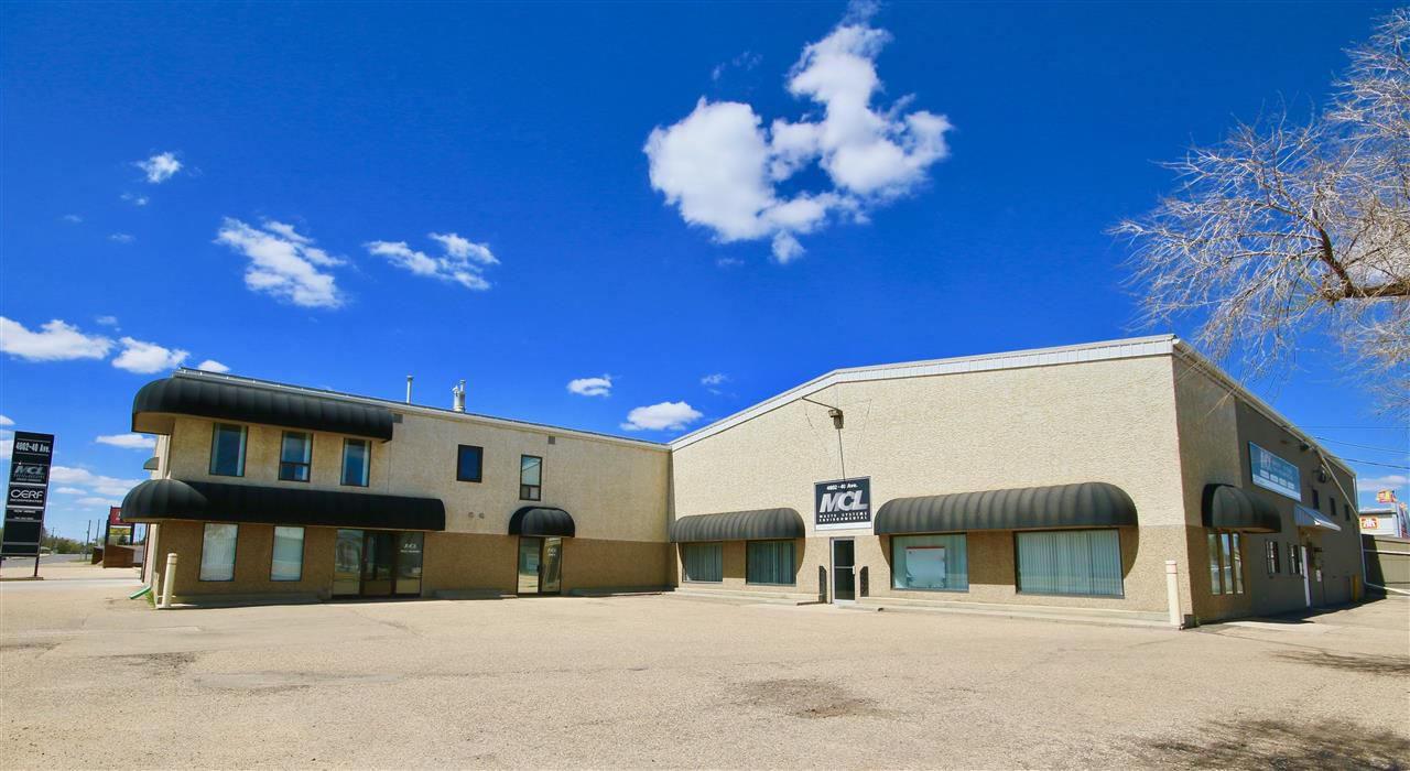 Main Photo: 4802 40 Avenue: Wetaskiwin Industrial for sale : MLS®# E4145598