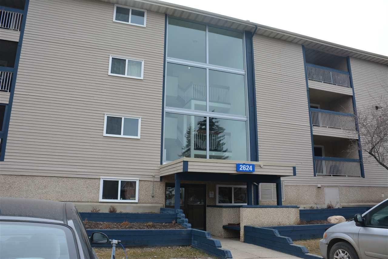 Main Photo: 311 2624 MILL WOODS Road E in Edmonton: Zone 29 Condo for sale : MLS®# E4148816