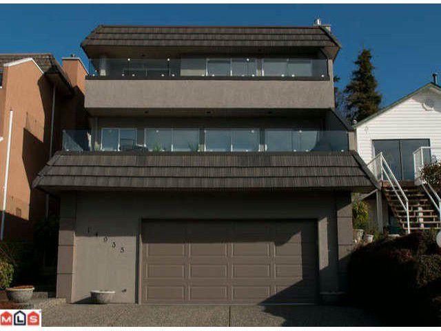 Main Photo: 14935  BEACHVIEW AV in White_Rock: White Rock House for sale (South Surrey White Rock)  : MLS®# F1107367