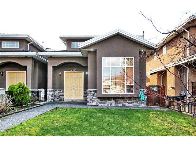 "Main Photo: 6617 RANDOLPH Avenue in Burnaby: Upper Deer Lake House 1/2 Duplex for sale in ""Upper Deer Lake"" (Burnaby South)  : MLS®# V1055780"