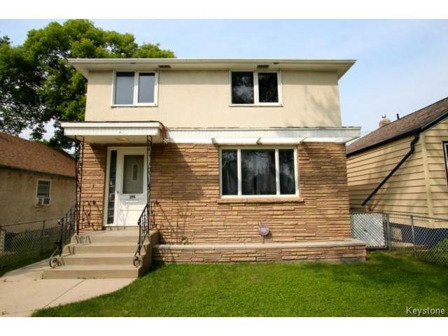 Main Photo: 299 Belmont Avenue in WINNIPEG: West Kildonan / Garden City Residential for sale (North West Winnipeg)  : MLS®# 1422742