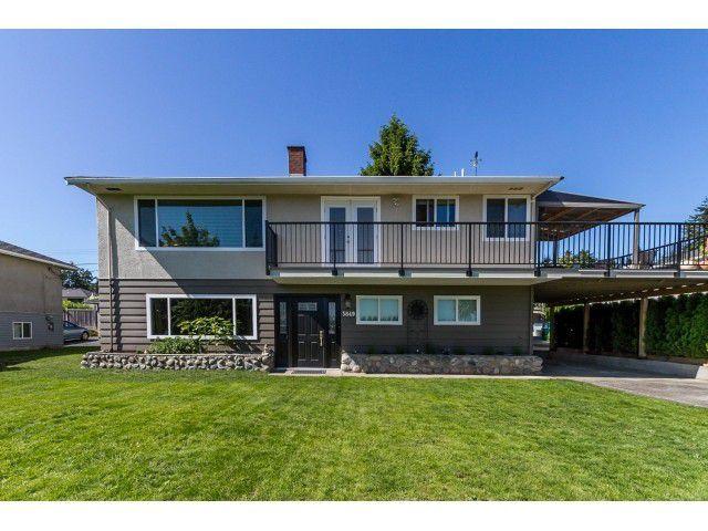 Main Photo: 3849 HURST Street in Burnaby: Suncrest House for sale (Burnaby South)  : MLS®# V1129145
