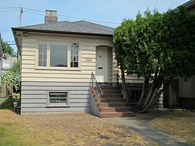 Main Photo: 1529 W 64TH Avenue in Vancouver: South Granville House for sale (Vancouver West)  : MLS®# V1137202